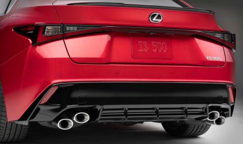 V8 мотор за новия Lexus IS 500 F Sport - 6