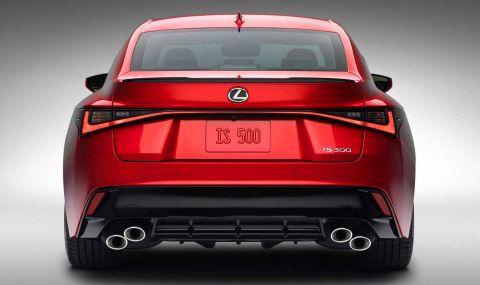 V8 мотор за новия Lexus IS 500 F Sport - 5