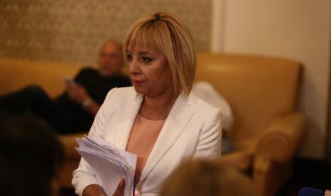 Парламентът избра Мая Манолова за председател на Комисията по ревизията