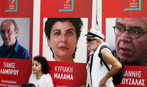 Предсрочни избори в Гърция