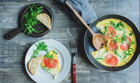 Рецепта за вечеря: Вкусна манджа с яйца - 1
