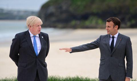 Важен разговор между Борис Джонсън и Еманюел Макрон - 1