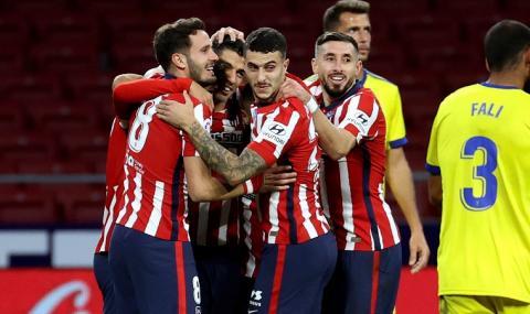 Атлетико Мадрид громи в Ла Лига, Суарез отново вкара