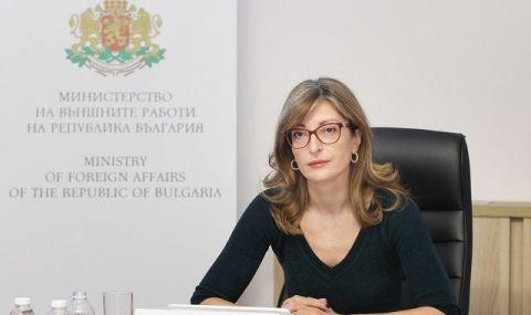 Захариева ще участва в заседание в Брюксел