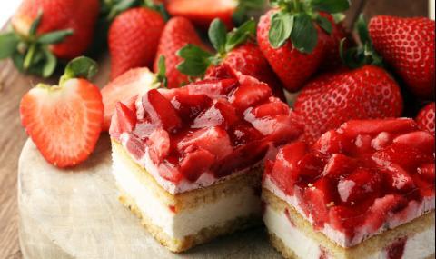 Рецепта на деня: Лесна ягодова торта