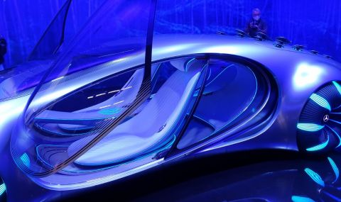 Mercedes AVTR пристига от друга планета и се управлява с мисли - 2