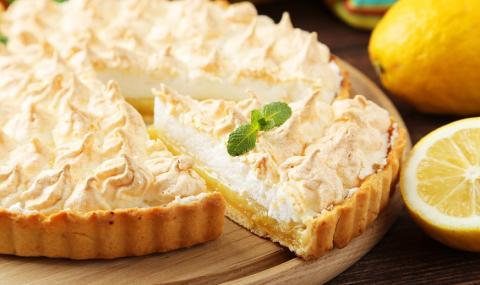 Рецепта на деня: Лимонов пай