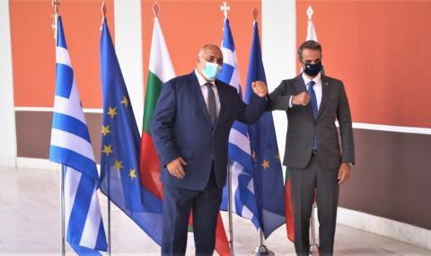 Борисов иска от Мицотакис да отвори ГКПП-та