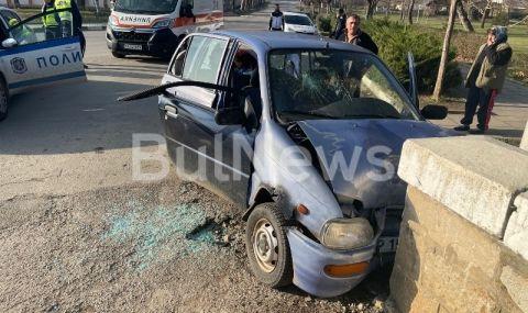 Шофьор се заби в мост във врачанско село, загина на място
