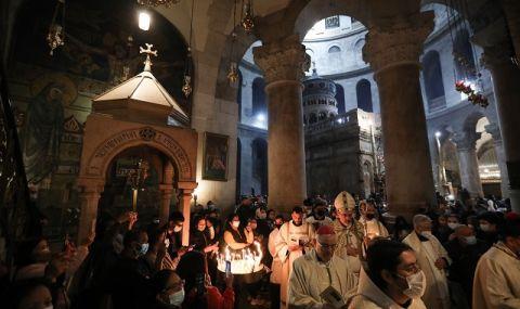 Християните в Израел празнуват Великден с по-леки мерки от 2020-а