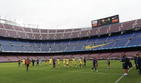 Барселона губи по 3,3 млн. евро за всеки мач без публика