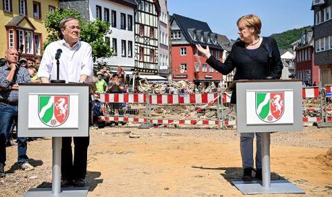 Меркел умолява германците: Подкрепете Лашет! - 1