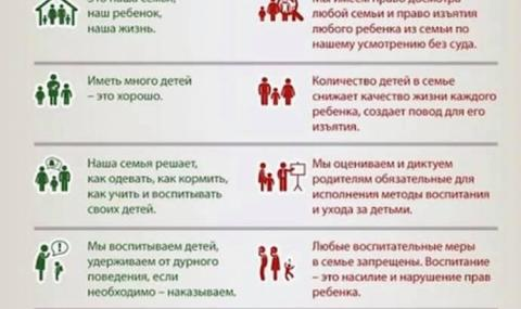 Опорките срещу Стратегията за детето заимствани от Русия - 1