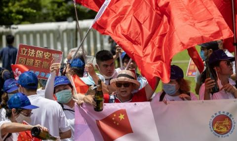 Китай прие спорен закон за Хонконг