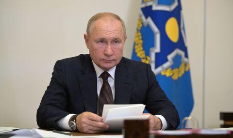 Владимир Путин с призив за гласуване - 1