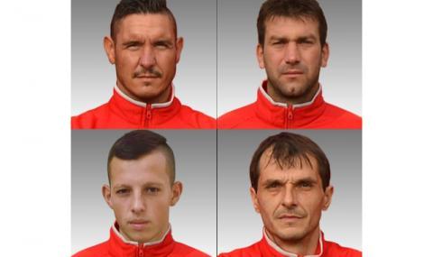 Загиналите футболисти от Павликени (СНИМКИ)
