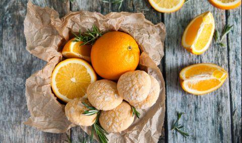 Рецепта на деня: Напукани портокалови сладки