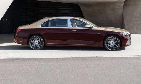 Mercedes се върна към V12 и представи Maybach S680 - 3