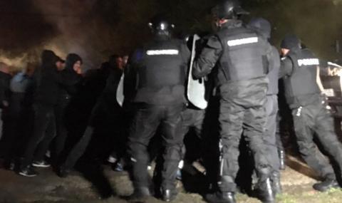 Цигани се биха край София, полицията на крак