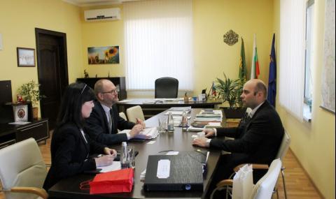 Кметът на Свиленград прие посланика на Дания СНИМКИ