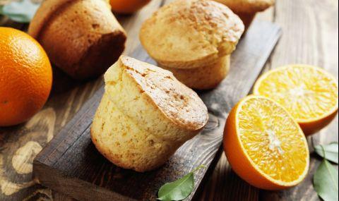 Рецепта на деня: Портокалови мъфини