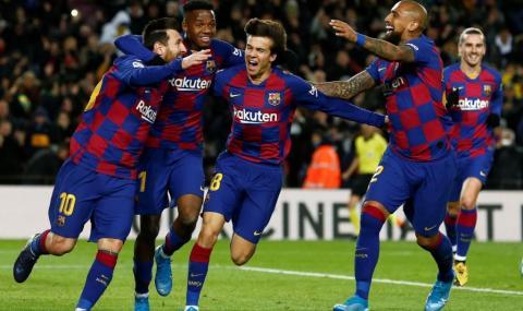Барса се сдоби с още един футболист изненадващо
