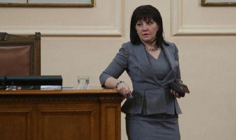 Караянчева: Радев наложи вето 30 пъти, а пусна в аванс недъгавия Изборен кодекс