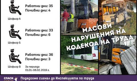 """Спаси София: Робски труд в """"Градския транспорт"""" на София"""