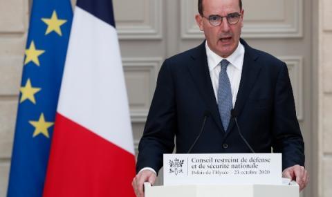 Франция с максимална степен на готовност
