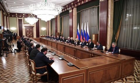 Путин назначи новото руско правителство