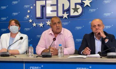 От ГЕРБ внасят жалба в ЦИК срещу служебното правителство, Даниел Митов остава изборът им за премиер