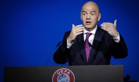 Инфантино: Край с трансферите над 100 милиона евро