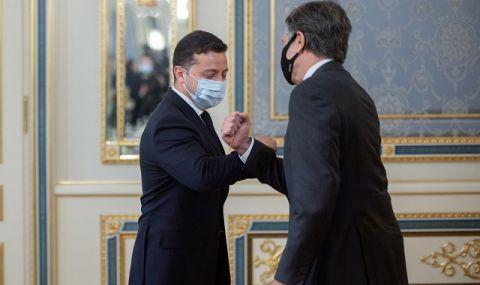 САЩ стоят твърдо зад суверенна Украйна