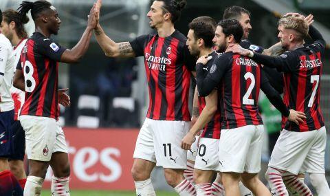 Милан громи в Серия А, Златан и Ребич с по два гола (ВИДЕО)