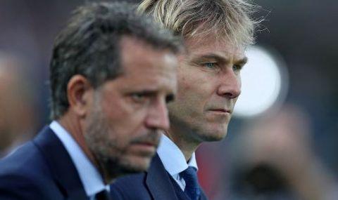Спортният директор и вицепрезидентът на Ювентус в спор заради Пирло