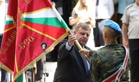 Каракачанов: Нова група на Специалните сили ще бъде създадена в София