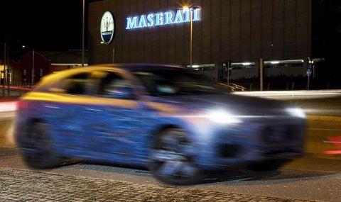 Maserati показа ново SUV в противоречиви снимки - 4