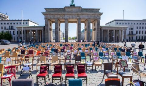 Германските ресторантьори на протест