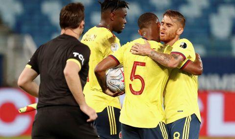 Колумбия надигра Еквадор и Жорди Кайседо след VAR