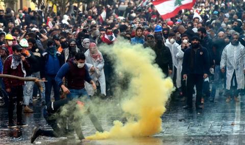 Безредици в Бейрут (СНИМКИ)