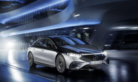 Mercedes представи електрическата S-Klasse - 1