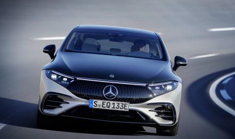 Mercedes представи електрическата S-Klasse - 10