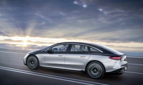 Mercedes представи електрическата S-Klasse - 11