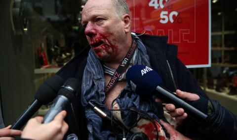 Нападнаха германски журналист в Атина