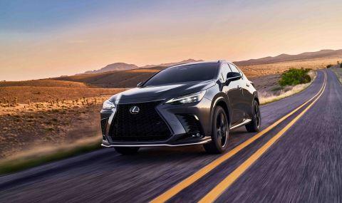 Lexus показа обновения NX с първото за марката plug-in хибридно задвижване - 9