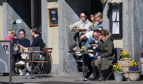 20% от населението в Стокхолм вече има имунитет