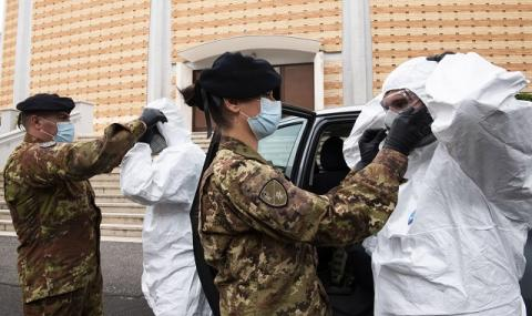 Дневният брой на починалите от вируса в Италия отново тръгна нагоре