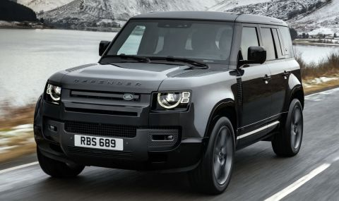 Land Rover подготвя Defender с двигател от М5 - 1