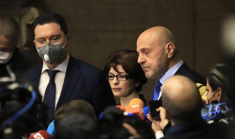 Дончев и Митов стават първи заместници на Борисов, Караянчева –