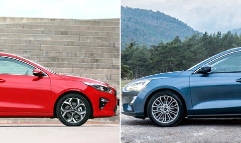 Кой е по-евтин у нас: Kia Ceed или Ford Focus?